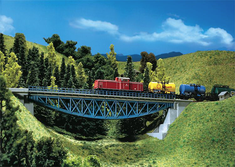 N Faller 222576 - Fishbellied bridge