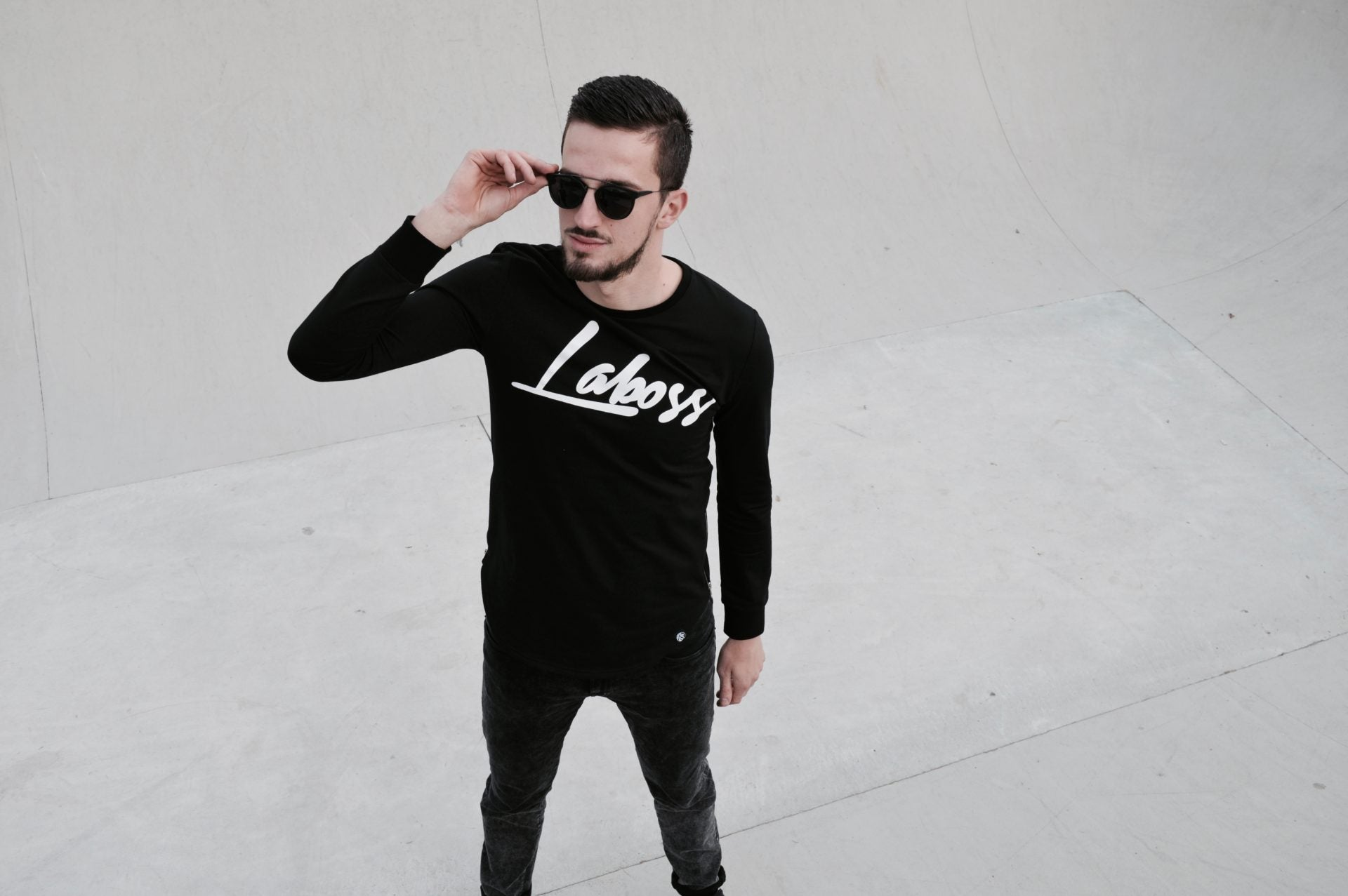 Laboss Zipper Longsleeve