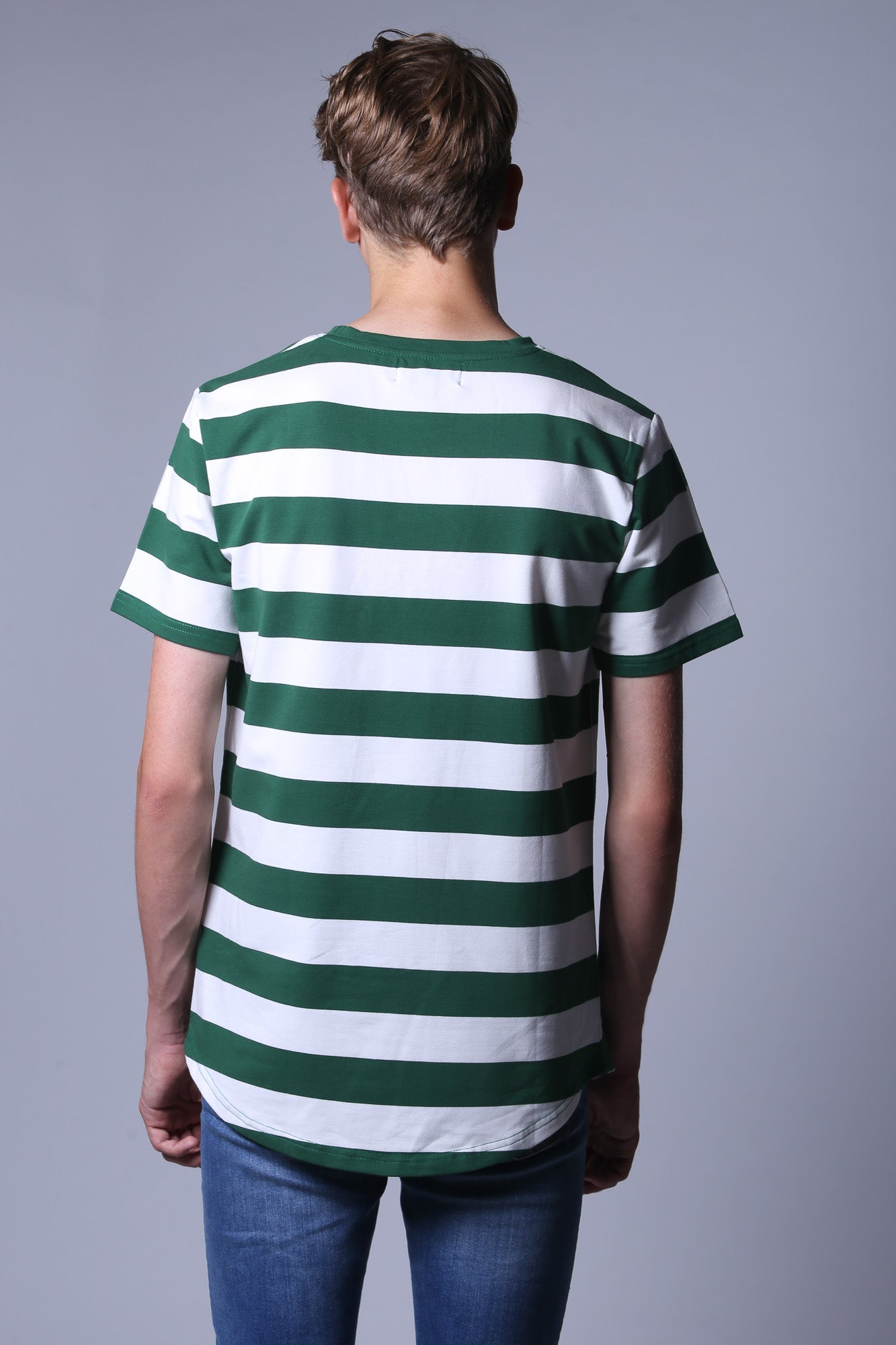 Laboss Striped T-shirt Green
