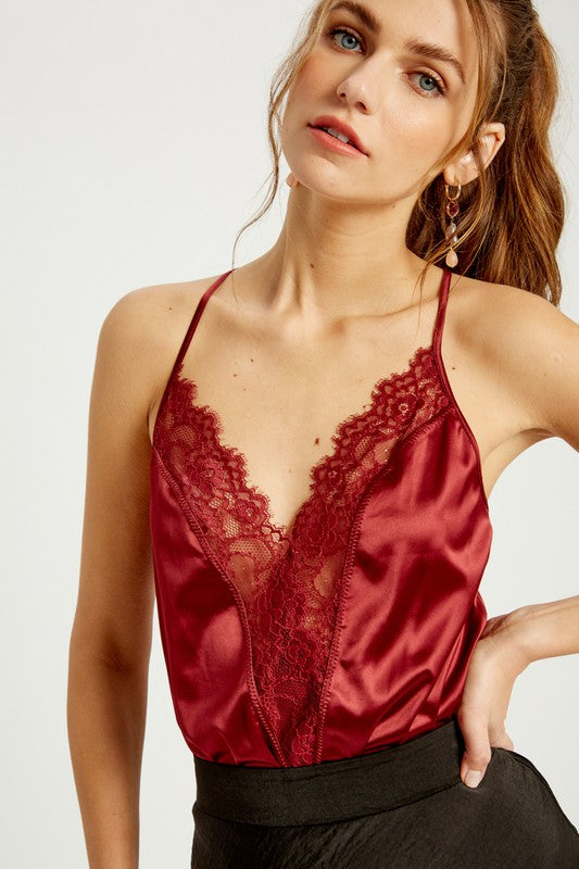 Ruby Lace Bodysuit