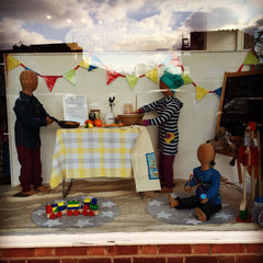 Window Display at isobel&henry