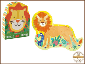 Lion 12pc Jigsaw