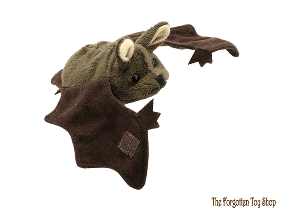 Bat (Brown) Finger Puppet The Puppet Company - The Forgotten Toy Shop Limited