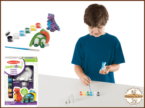 Created by Me! Dinosaur Figurines Craft Kit Melissa & Doug - The Forgotten Toy Shop Limited