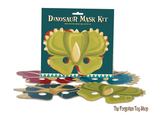 Dinosaur Masks Kit Clockwork Soldier - The Forgotten Toy Shop Limited