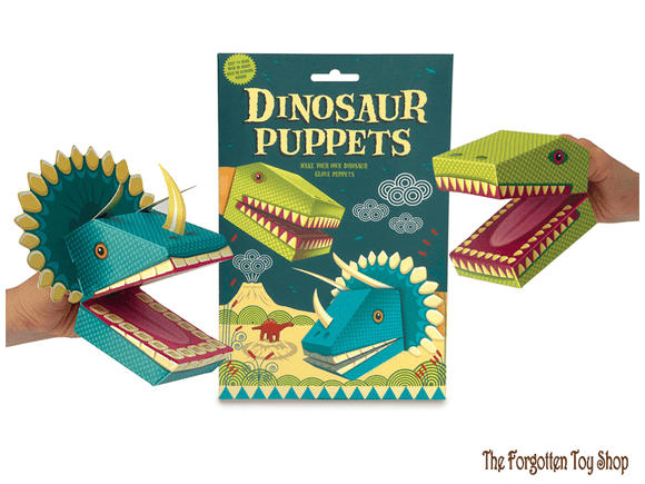 Create your own Dinosaur Puppets Clockwork Soldier - The Forgotten Toy Shop Limited