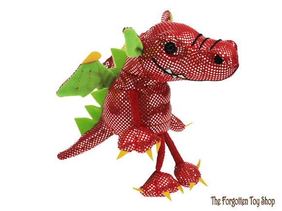 Dragon (Red) Finger Puppet The Puppet Company - The Forgotten Toy Shop Limited