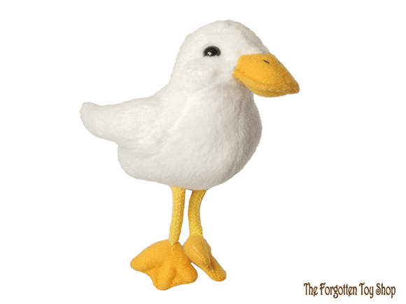 Duck (White) Finger Puppet The Puppet Company - The Forgotten Toy Shop Limited