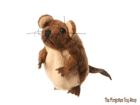 Mouse (Brown) Finger Puppet The Puppet Company - The Forgotten Toy Shop Limited