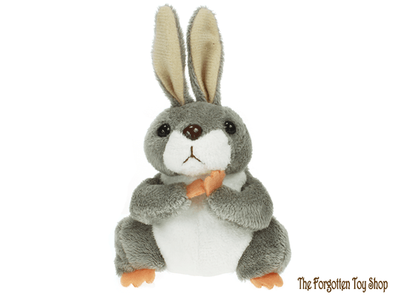 Rabbit (Grey) Finger Puppet The Puppet Company - The Forgotten Toy Shop Limited