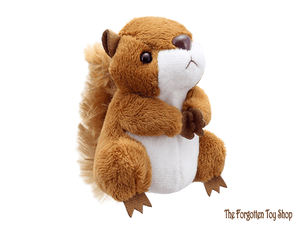 Squirrel (Red) Finger Puppet The Puppet Company - The Forgotten Toy Shop Limited