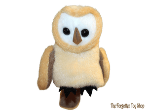 Barn Owl Finger Puppet The Puppet Company - The Forgotten Toy Shop Limited