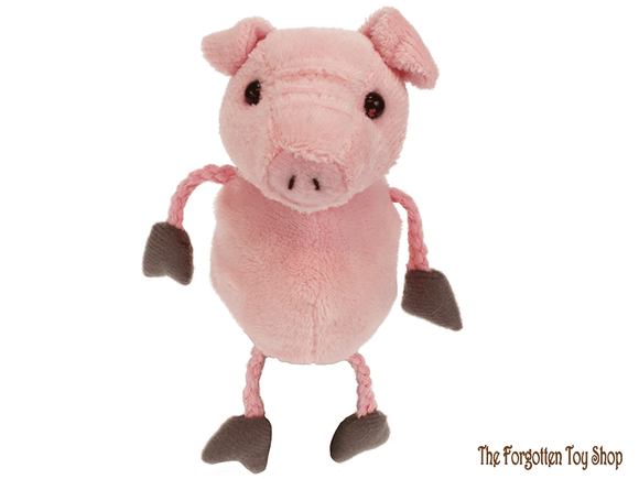 Pig Finger Puppet The Puppet Company - The Forgotten Toy Shop Limited