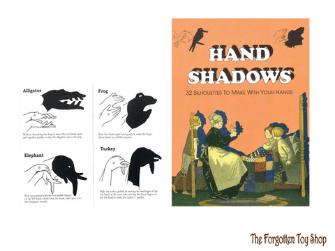 Hand Shadows Book Tobar - The Forgotten Toy Shop Limited