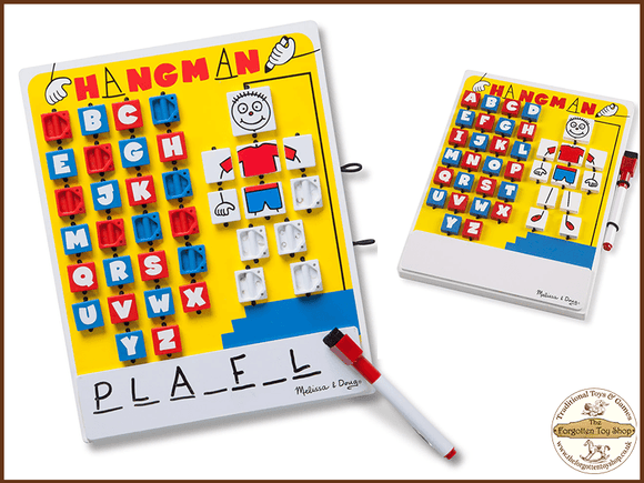 Flip-to-Win Hangman Travel Game Melissa & Doug - The Forgotten Toy Shop Limited