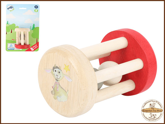 Ludwig Wooden Baby Rattle