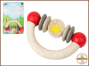 Ludwig Wooden Grip Toy Half Circle