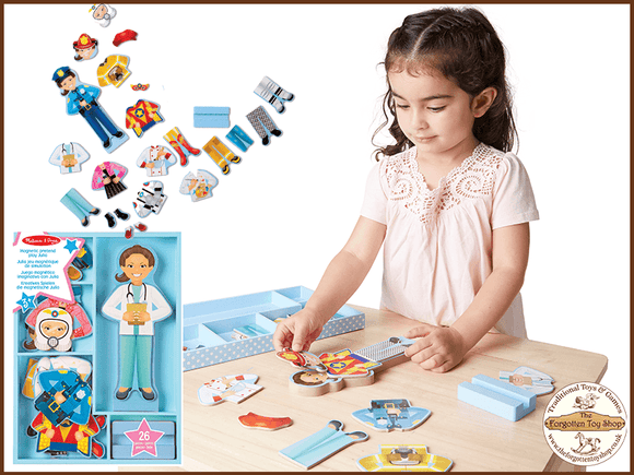 Magnetic Dress Up Set - Julia Melissa & Doug - The Forgotten Toy Shop Limited