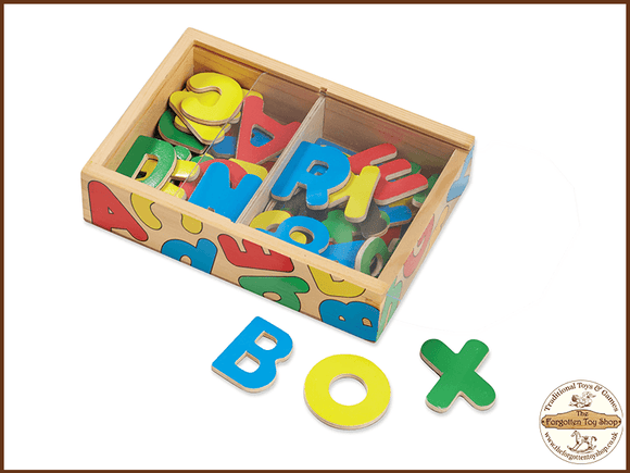 Magnetic Wooden Letters Melissa & Doug - The Forgotten Toy Shop Limited