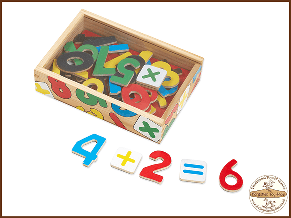 Magnetic Wooden Numbers Melissa & Doug - The Forgotten Toy Shop Limited