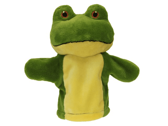 My First Puppet - Frog The Puppet Company - The Forgotten Toy Shop Limited