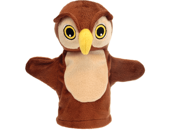My First Puppet - Owl The Puppet Company - The Forgotten Toy Shop Limited