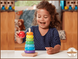 Rainbow Stacker Melissa & Doug - The Forgotten Toy Shop Limited