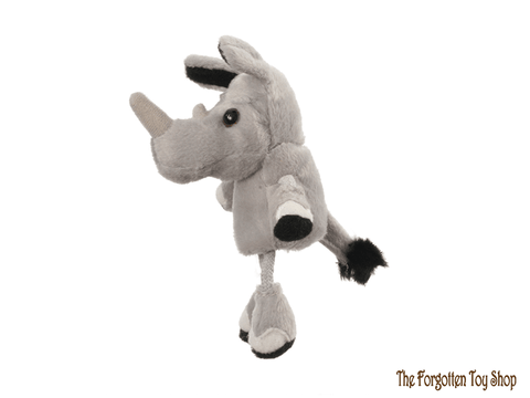 Rhino Finger Puppet The Puppet Company - The Forgotten Toy Shop Limited