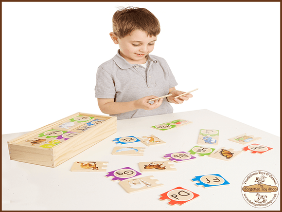 Self-Correcting Letter Puzzle Melissa & Doug - The Forgotten Toy Shop Limited
