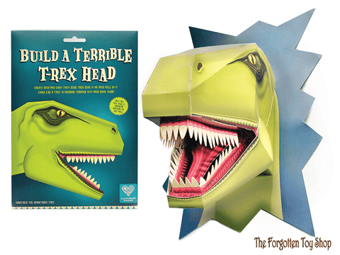 Build a Terrible T-Rex Head Clockwork Soldier - The Forgotten Toy Shop Limited