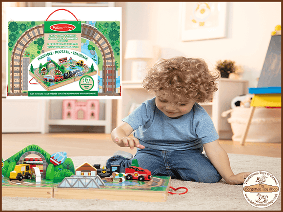 Take-along Railroad Melissa & Doug - The Forgotten Toy Shop Limited