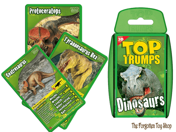 Top Trumps - Dinosaurs Muddleit - The Forgotten Toy Shop Limited