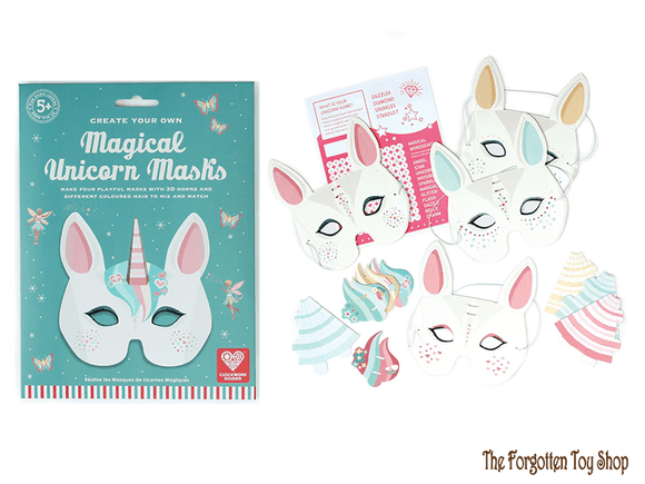 Create your own Magical Unicorn Masks Clockwork Soldier - The Forgotten Toy Shop Limited