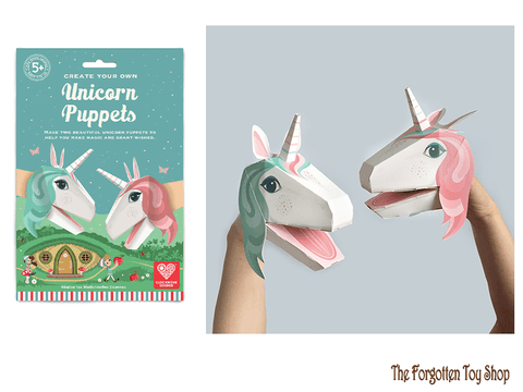 Create your own Unicorn Puppets Clockwork Soldier - The Forgotten Toy Shop Limited