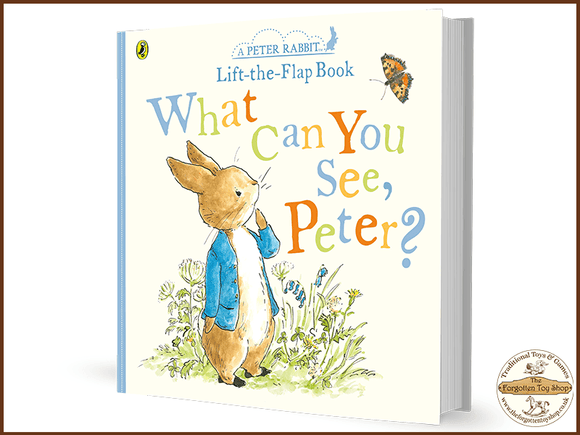 What Can You See, Peter (Peter Rabbit Lift the Flap Book)