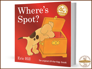 Where's Spot (Lift the Flap) Board Book