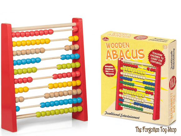 Wooden Abacus Tobar - The Forgotten Toy Shop Limited