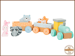 Wooden Animal Train Legler - The Forgotten Toy Shop Limited