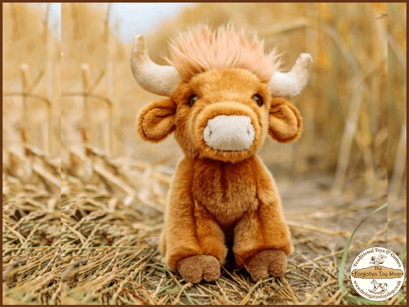Animigos World of Nature - Highland Cow