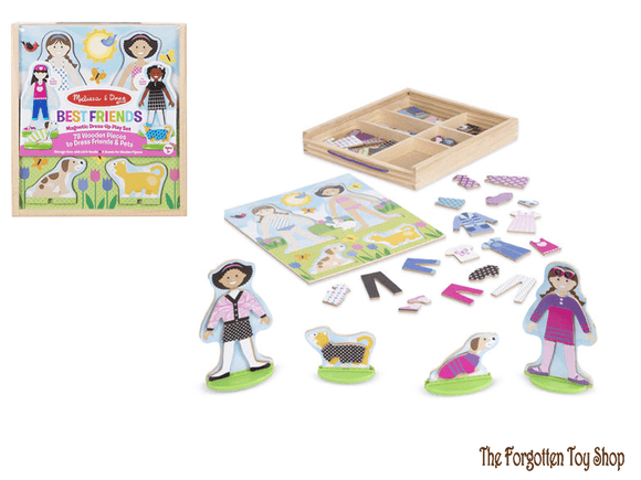 Best Friends Magnetic Dress-Up Play Set Melissa & Doug - The Forgotten Toy Shop Limited