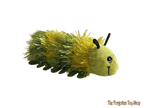 Caterpillar (Green) Finger Puppet The Puppet Company - The Forgotten Toy Shop Limited
