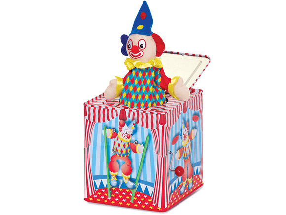 Clown Jack in the Box Tobar - The Forgotten Toy Shop Limited