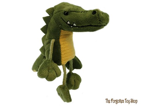 Crocodile Finger Puppet The Puppet Company - The Forgotten Toy Shop Limited