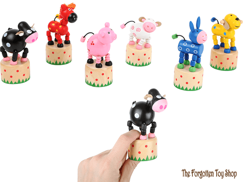 Dancing Farm Animals Legler - The Forgotten Toy Shop Limited