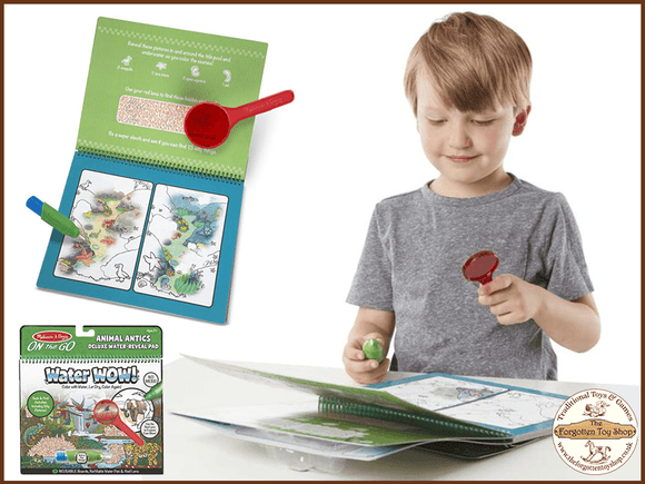 Water Wow! Animal Antics Deluxe Water Reveal Pad Melissa & Doug - The Forgotten Toy Shop Limited