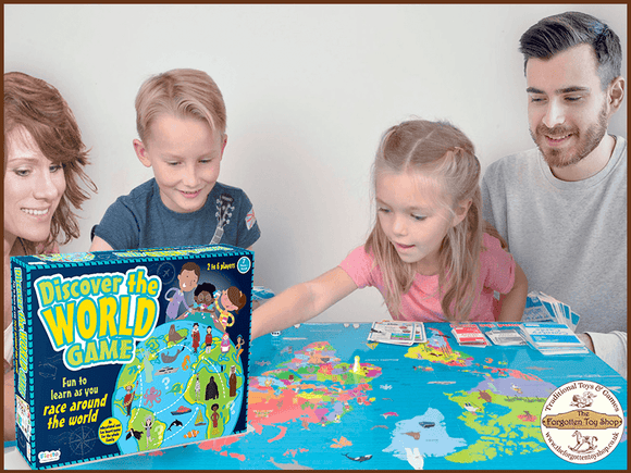 Discover the World Board Game
