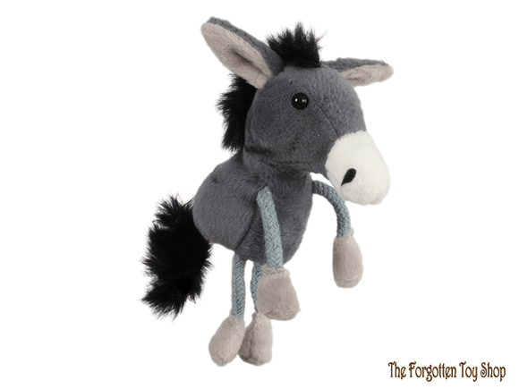 Donkey Finger Puppet The Puppet Company - The Forgotten Toy Shop Limited