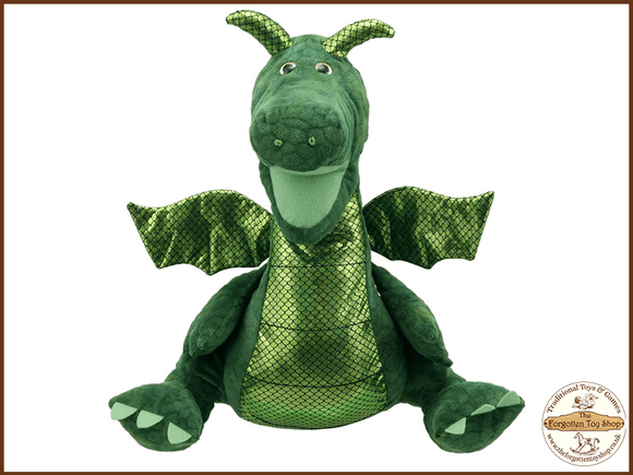 Enchanted Green Dragon Puppet