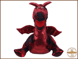 Enchanted Red Dragon Puppet