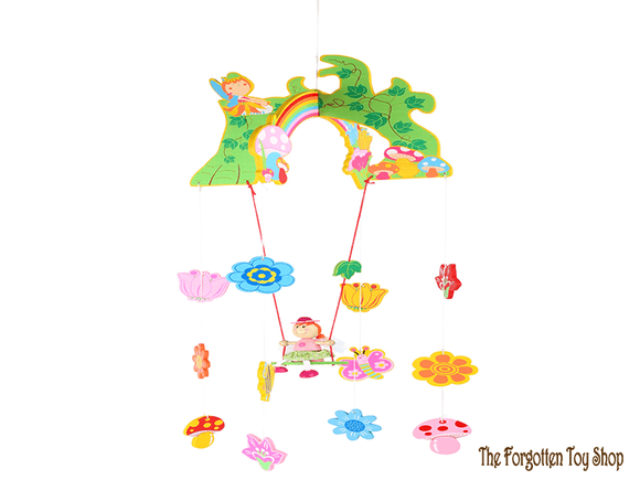 Fairy Wooden Hanging Mobile Legler - The Forgotten Toy Shop Limited